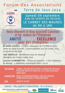 Forum des associations du Cannet des Maures