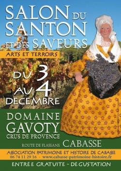 Salon du santon et des saveurs à Cabasse