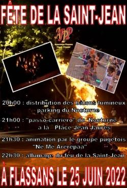 Fête de la Saint Jean à Flassans