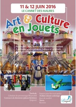 Art & culture en jouets au Cannet des Maures