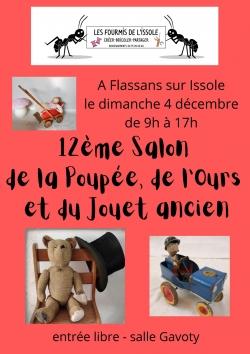 Salon de la poupées à Flassans s/Issole
